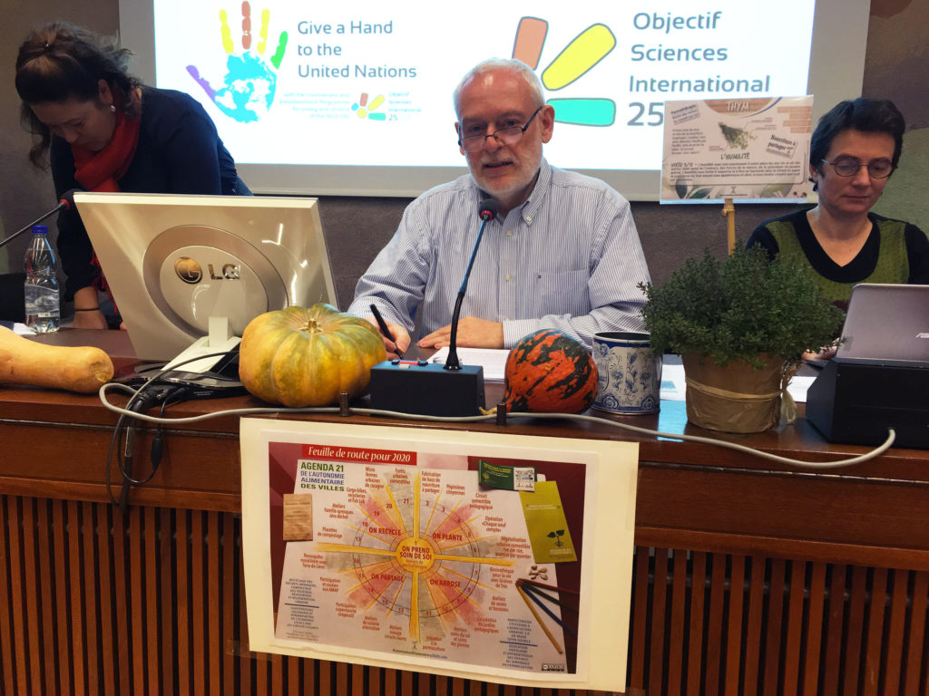 L'Agenda 21 de l'Autonomie Alimentaire des Villes à l'ONU
