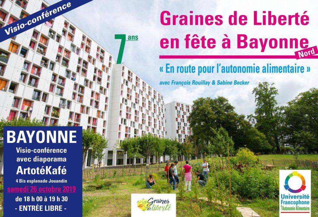 Bayonne – Visio-conférence pédagogique et Zuper fête !