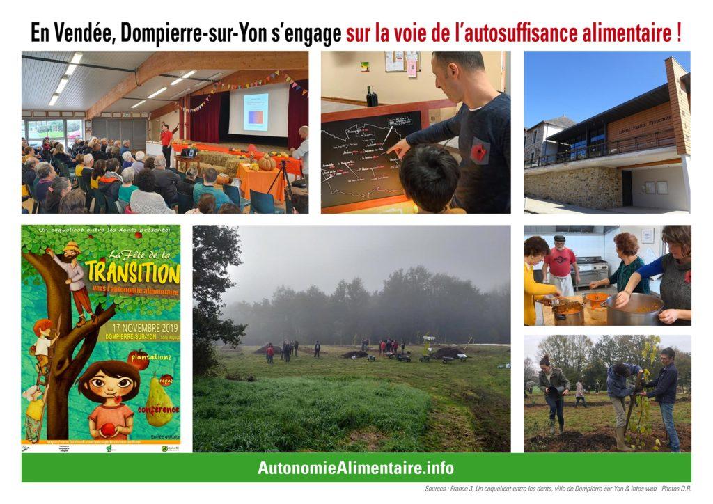 Dompierre-sur-Yon embarque pour l'autosuffisance alimentaire