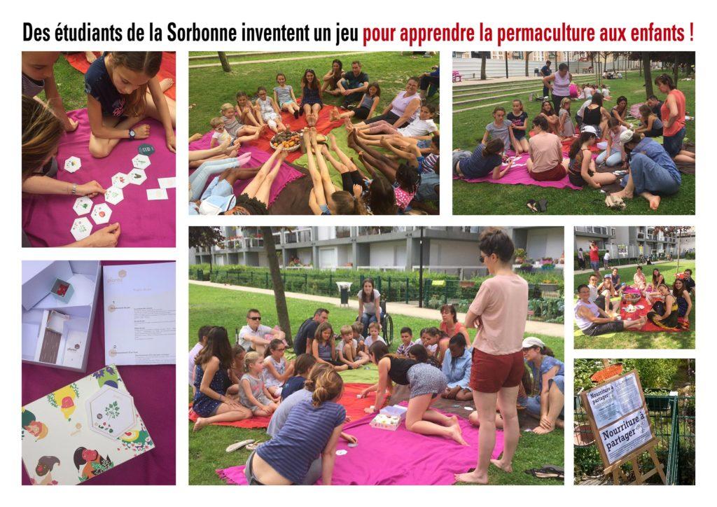 Des étudiants de la Sorbonne inventent un jeu sur la permaculture